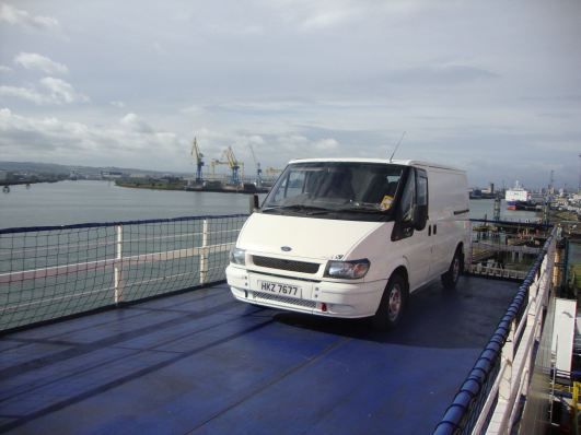 Ferry to Liverpool